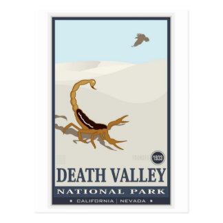Carte Postale Monument national 2 de Death Valley
