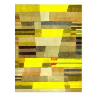 Carte Postale Monument par Paul Klee
