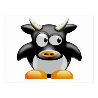 Carte Postale MOO de MOO la vache