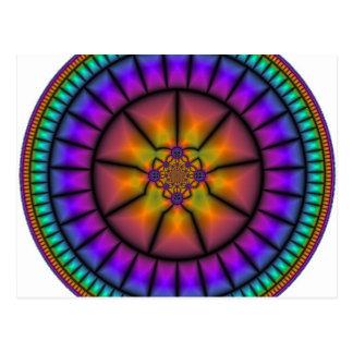 Carte Postale Mosaïque de sphère céleste