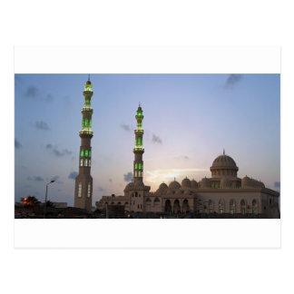 Carte Postale mosquée africaine