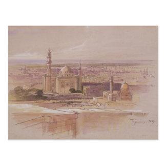 Carte Postale Mosquée d'Âgrâ, le Caire, 1849