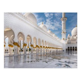 Carte Postale Mosquée de cheik Zayed