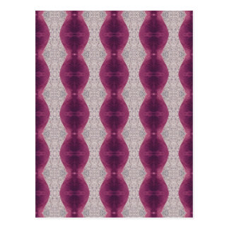 Carte Postale motif de conception de lampe de lave