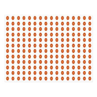 Carte Postale motif de fleur