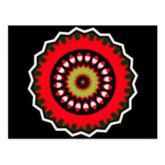Carte Postale Motif tribal de sud-ouest de Bohème
