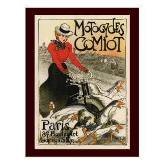 Carte Postale Motocycles Comiot
