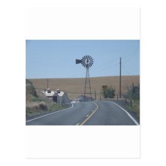 Carte Postale Moulin à vent oriental de Washington