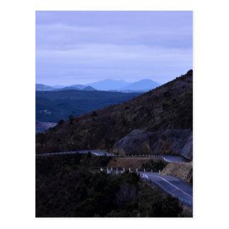 CARTE POSTALE MOUNTAIN VIEW DE QUEENSTOWN TASMANIE AUSTRALIE