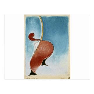Carte Postale Mouvement héroïque par Theo van Doesburg