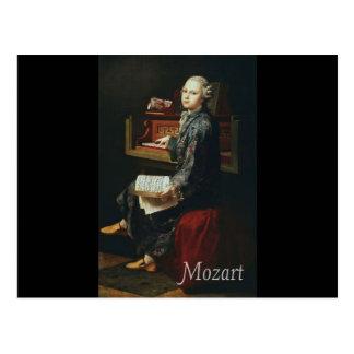 Carte Postale Mozart