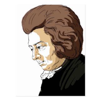 Carte Postale Mozart (Wolfgang Amadeus Mozart)