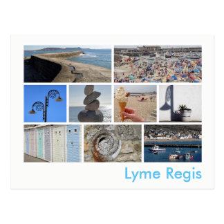 Carte Postale Multi-image de Lyme REGIS