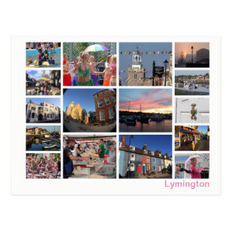 Carte Postale Multi-image de Lymington