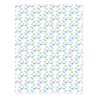 Carte Postale MulticolorDinosBig