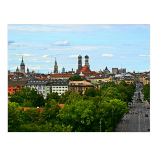 Carte Postale Munich