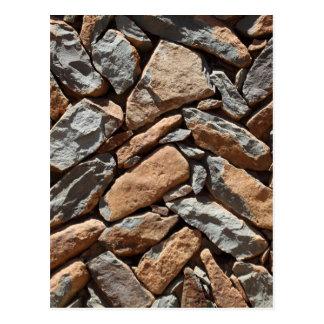 Carte Postale Mur de pierres sèches
