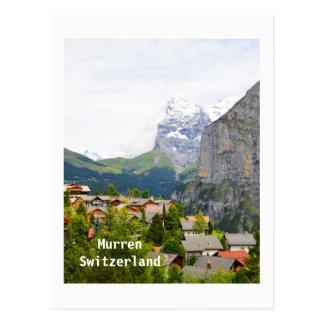 Carte Postale Murren en Suisse