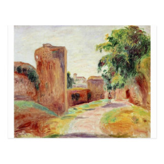Carte Postale Murs en Espagne par Pierre-Auguste Renoir