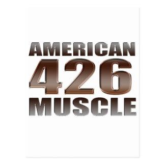 Carte Postale muscle américain 426 Hemi