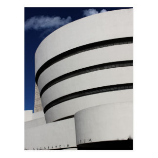 Carte Postale Musée de Guggenheim à New York City