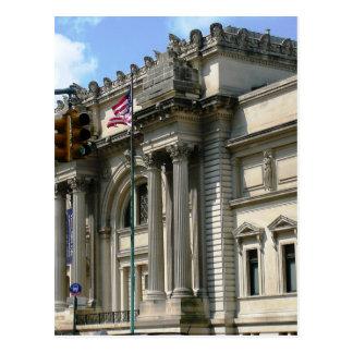 Carte Postale Musée de la métropolitaine de NYC