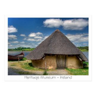 Carte Postale Musée d'héritage - Irlande