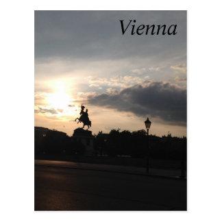 Carte Postale Museumplatz, Vienne