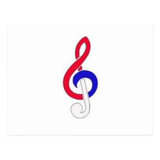 Carte Postale Musique