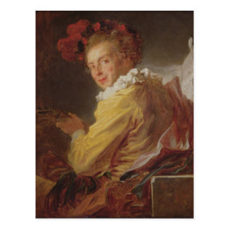 Carte Postale Musique, un portrait de Monsieur de la Breteche