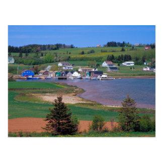 Carte Postale N.A. Le Canada, île Prince Edouard. Les bateaux