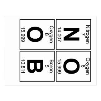 Carte Postale N-O-O-B (noob) - Complètement