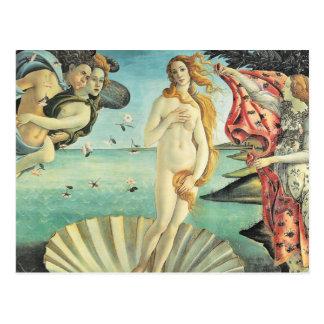 Carte Postale Naissance de Sandro Botticelli de Vénus