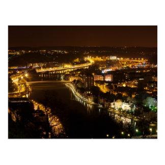Carte Postale Namur par nuit