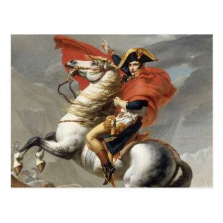Carte Postale Napoléon croisant les Alpes - Jacques-Louis David