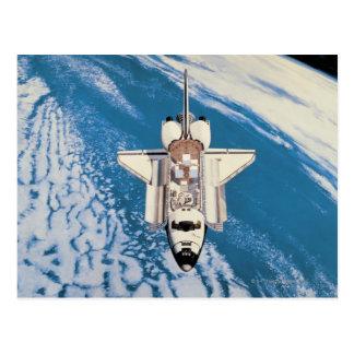 Carte Postale Navette spatiale en orbite