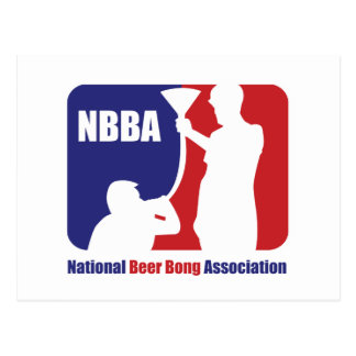 Carte Postale NBBA, bière de Nationatl Bong l'association