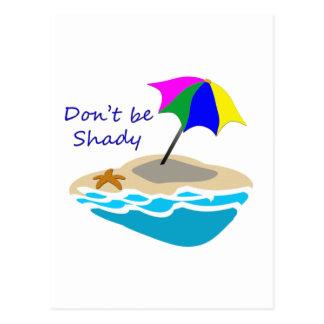 Carte Postale Ne soyez pas parapluie louche