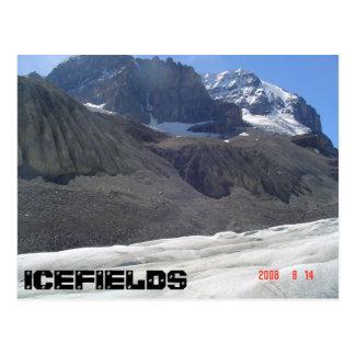 Carte Postale Négligence du glacier