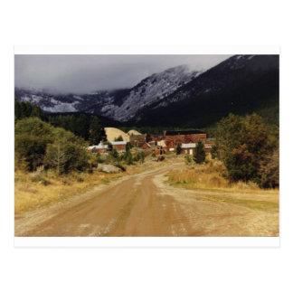 Carte Postale Neige venir