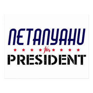 Carte Postale Netanyahu pour le président