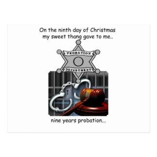Carte Postale Neuvième Noël de plouc de jour