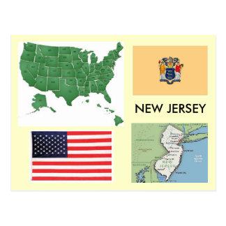 Carte Postale New Jersey, Etats-Unis
