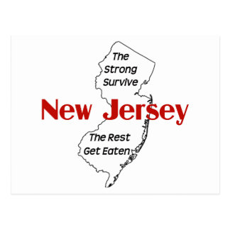 Carte Postale New Jersey : les forts survivent, le repos