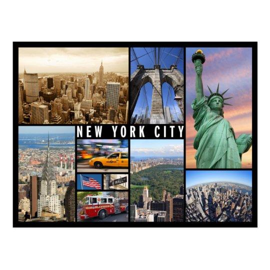 Carte Postale New York.Carte Postale New York City