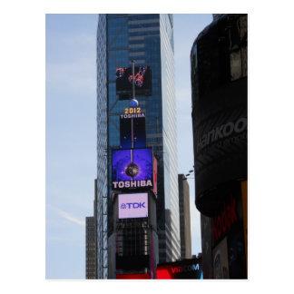 Carte postale New York City de Times Square de