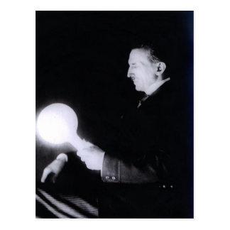 Carte Postale Nikola Tesla circa 1898.