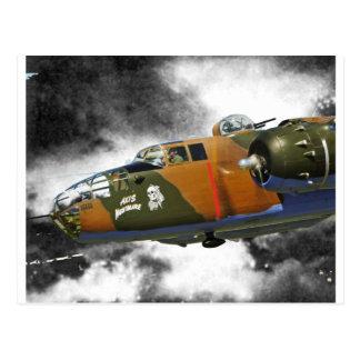 Carte Postale Nitemare d'axe du bombardier B-25 '