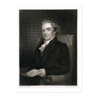 Carte Postale Noah Webster (1758-1843) gravé par Frederick W.
