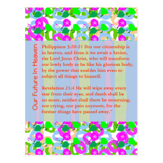 Carte Postale Noël de BIBLE de CITATION de SAGESSE, le Christ,